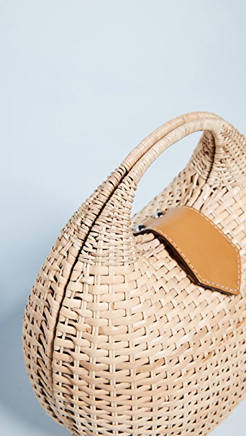 Kayu Elena Wicker Bag