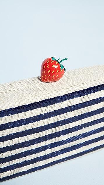 Kayu Veda Strawberry Clutch