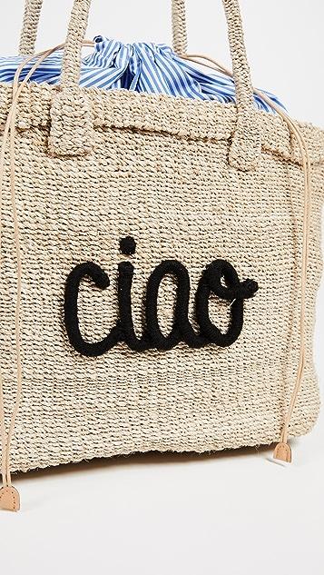 Kayu Ciao Straw Tote Bag