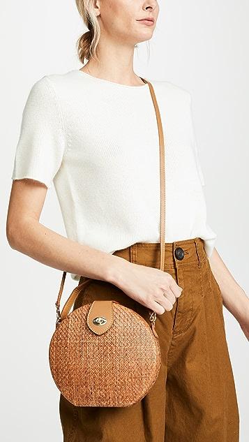 Kayu Peyton Straw Bag