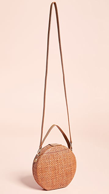 Kayu Peyton Straw Bag