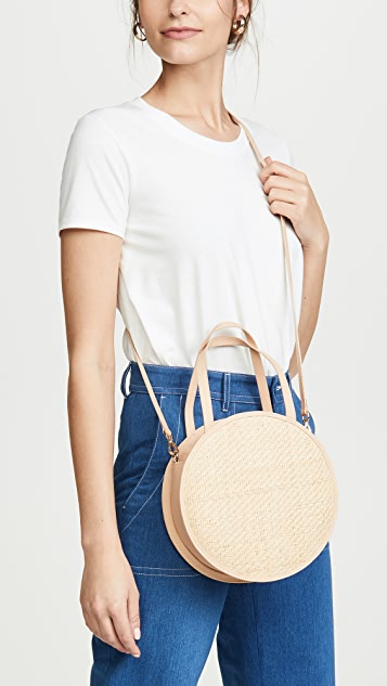 Kayu Carrie Round Crossbody Bag