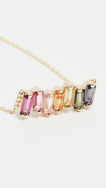 Kalan by Suzanne Kalan Rainbow Bar Necklace