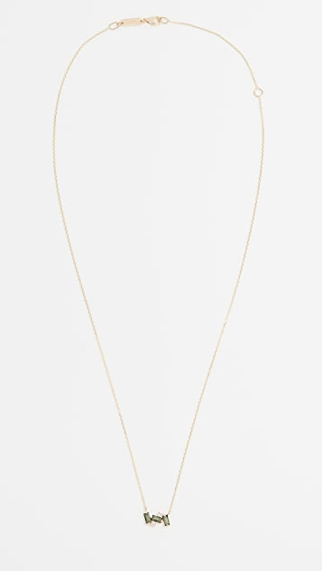 Kalan by Suzanne Kalan Baguette Necklace