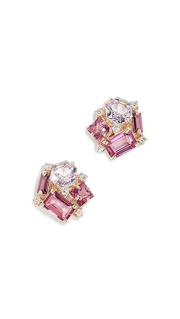 Kalan by Suzanne Kalan Cluster Earrings