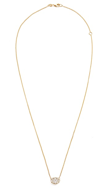 KC Designs Oval Diamond Necklace
