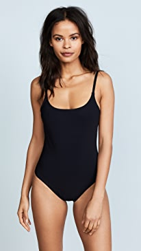 Skinny Scoop Swimsuit with Low Back