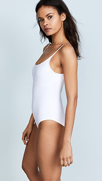 Karla Colletto Round Neck Swimsuit