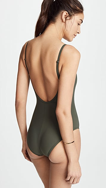 Karla Colletto Skinny Scoop One Piece