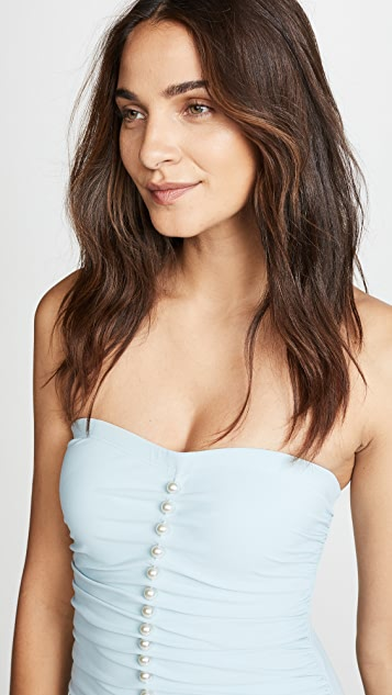 Karla Colletto Amma Bandeau One Piece