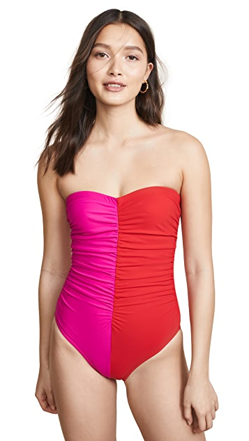 Karla Colletto Strapless One Piece