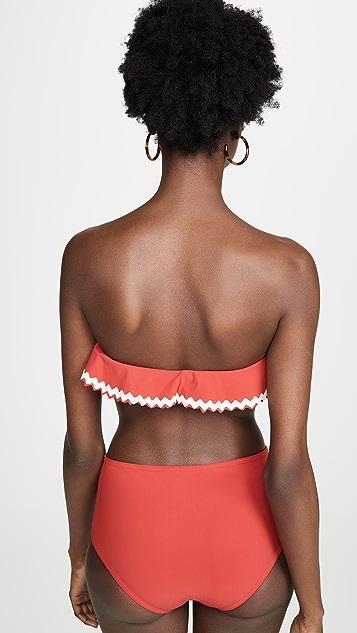 Karla Colletto Frida Bandeau Bikini Top