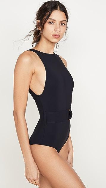 Karla Colletto Сплошной купальник с высоким вырезом Angelina