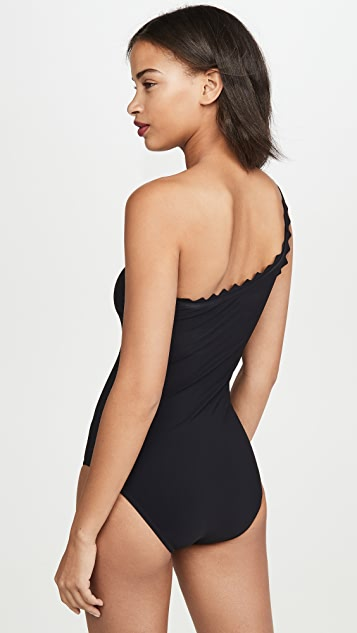 Karla Colletto Ines One Shoulder One Piece