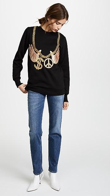 Katya Dobryakova Chain Sweatshirt