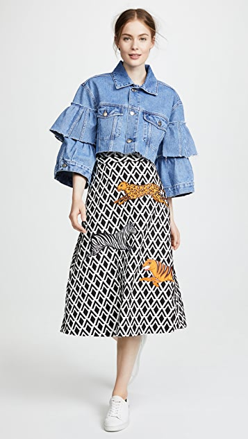 Katya Dobryakova Decor Denim Jacket