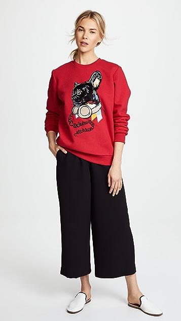 Katya Dobryakova Bulldog Sweatshirt