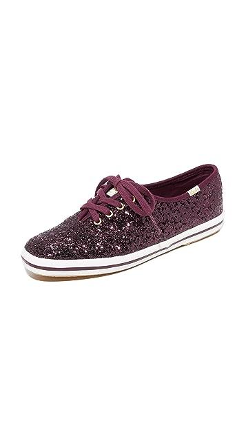 505698e0eb61 Keds x Kate Spade New York Glitter Sneakers