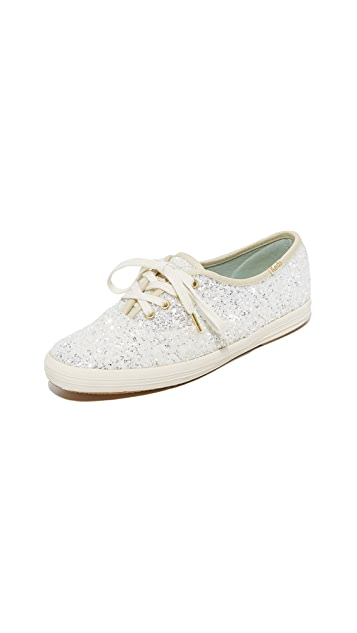 Keds x Kate Spade New York Glitter Sneakers