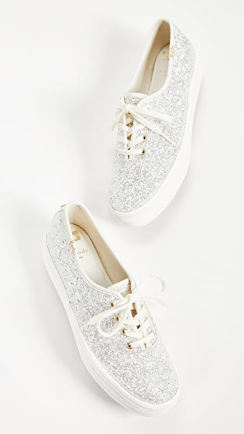Keds x Kate Spade New York Triple 运动鞋