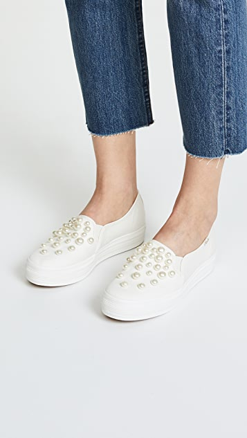 72499a8fa19f ... Keds x Kate Spade New York Triple Sneakers ...