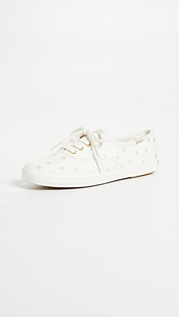 Keds x Kate Spade New York Dancing Dot Champion Sneakers ...
