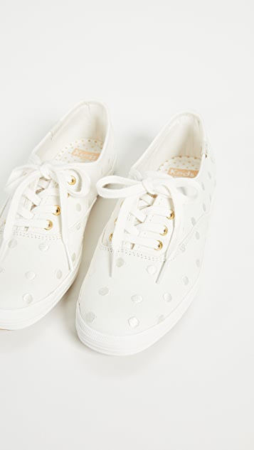 e69d6af32df4 ... Keds x Kate Spade New York Dancing Dot Champion Sneakers ...