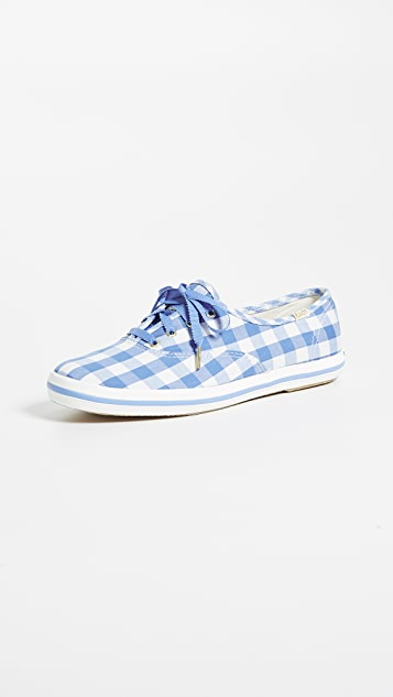 Keds x Kate Spade New York Gingham Sneakers