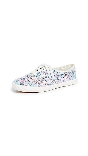 Keds x Kate Spade Daisy Garden Glitter Sneakers