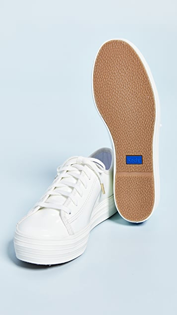 Keds Triple Kick Patent Sneakers