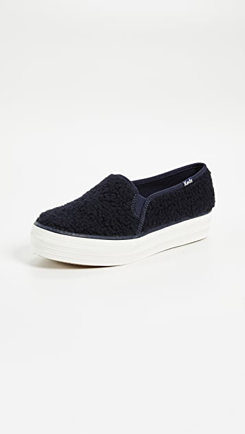 15f1b437ee7 Keds Triple Decker Sherpa Sneakers