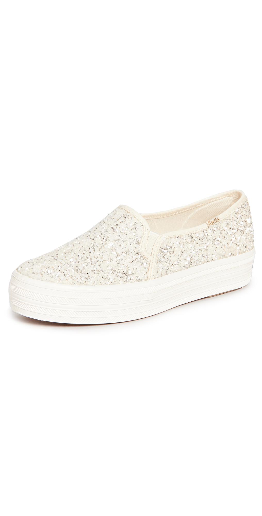 x Kate Spade Triple Decker Slip On Sneakers