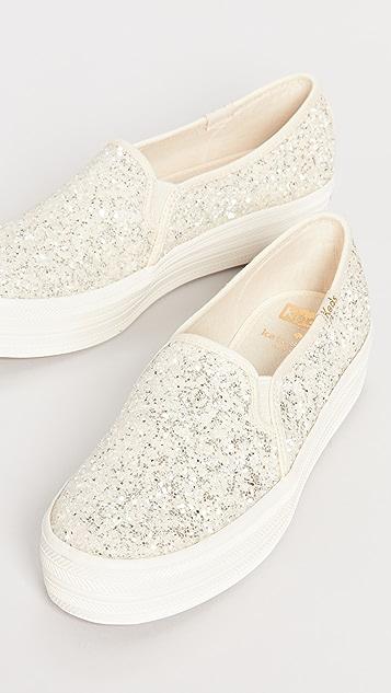 Keds x Kate Spade Triple Decker 运动便鞋