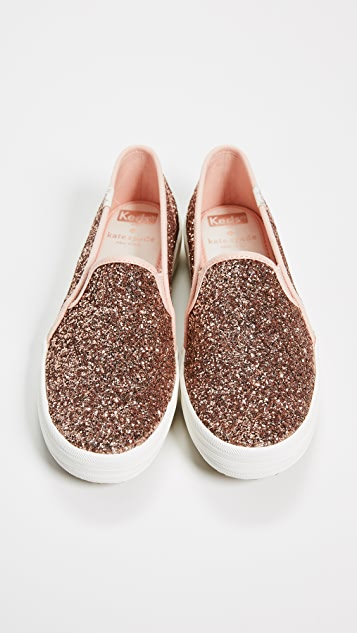 Keds x Kate Spade New York Double Decker Slip On Sneakers