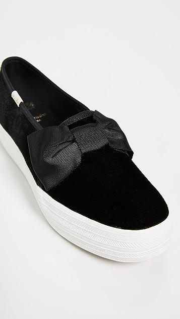 32e976b7ace9 ... Keds x Kate Spade New York Triple Decker Sneakers ...