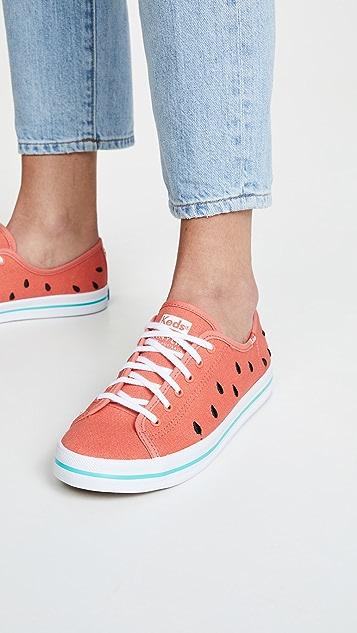 Keds x SunnyLife Watermelon Kickstart 运动鞋