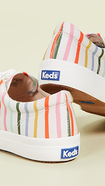 Keds x Rifle Paper Co Happy Stripe Sneakers
