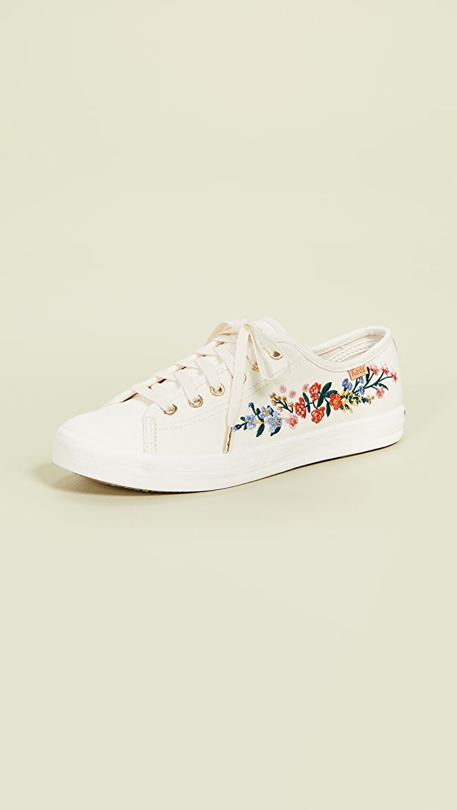 Keds x Rifle Paper Co Vines Embroidery