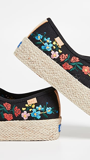 Keds x Rifle Paper Co Wildwood Espadrille Sneakers
