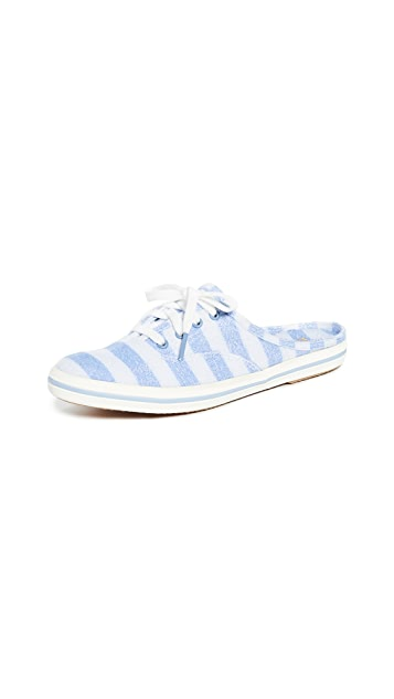 Keds x Kate Spade New York Stripe Moxie Mule Sneakers