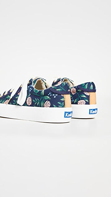 Keds x  Rifle Paper Co. Peonies Sneakers