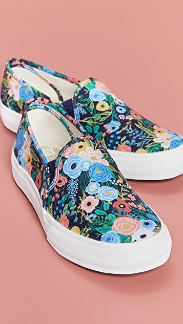Keds x  Rifle Paper Co. Double Decker Garden Party Sneakers