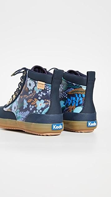 Keds x  Rifle Paper Co. Scout Garden Party Boots