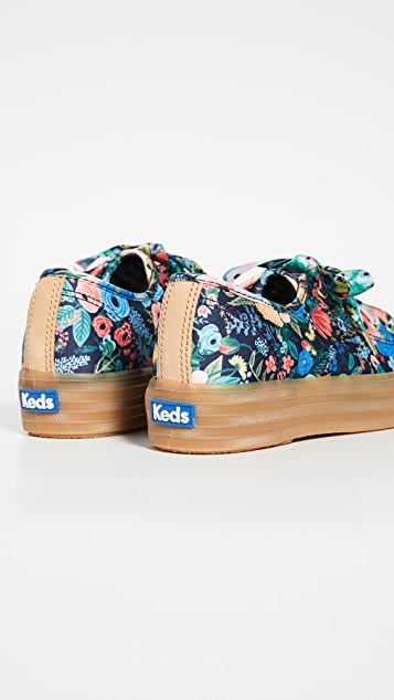 Keds x Rifle Paper Co. Triple Kick Garden Party Sneakers
