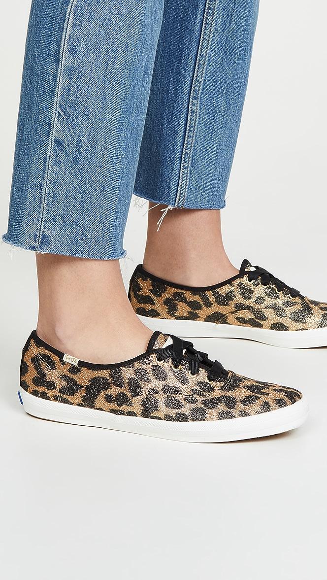 kate spade cheetah keds