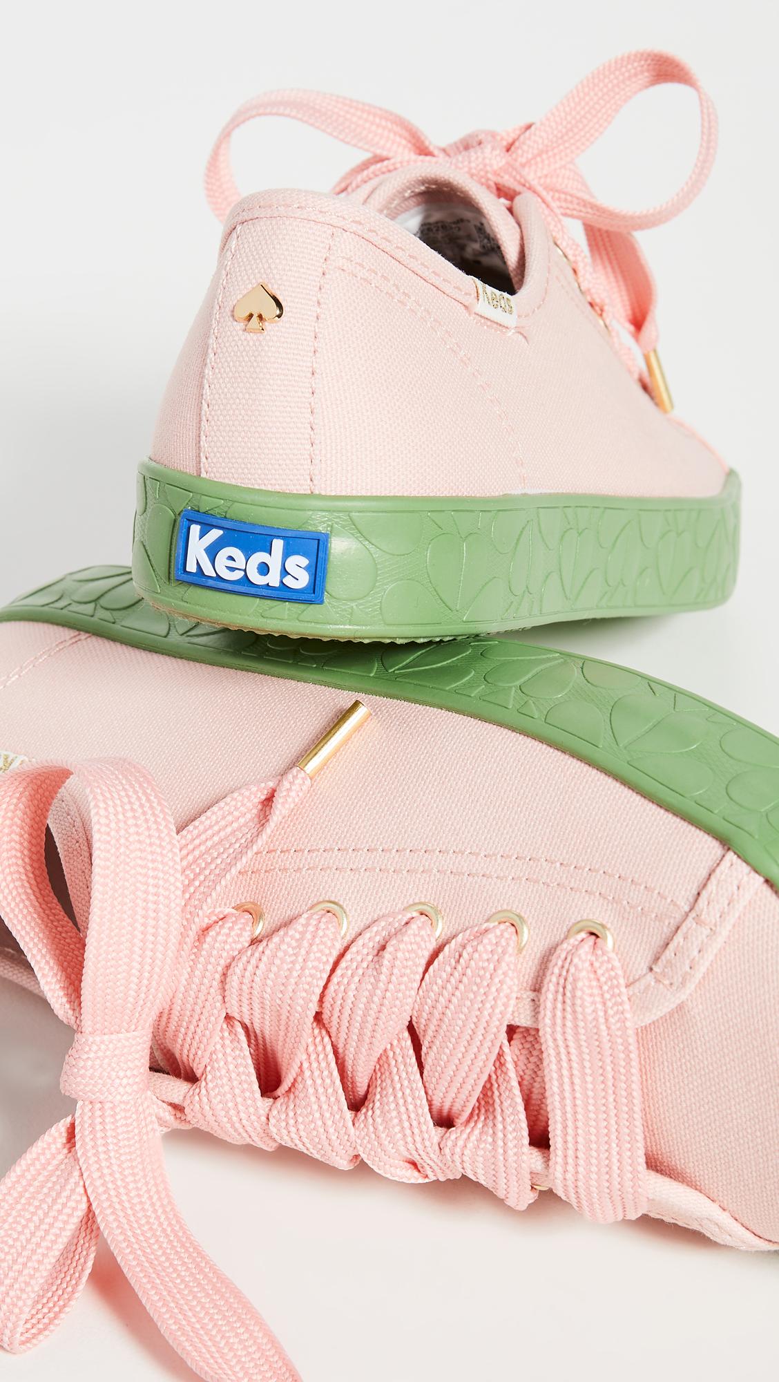 Keds x Kate Spade Kickstart Logo Foxing Sneakers