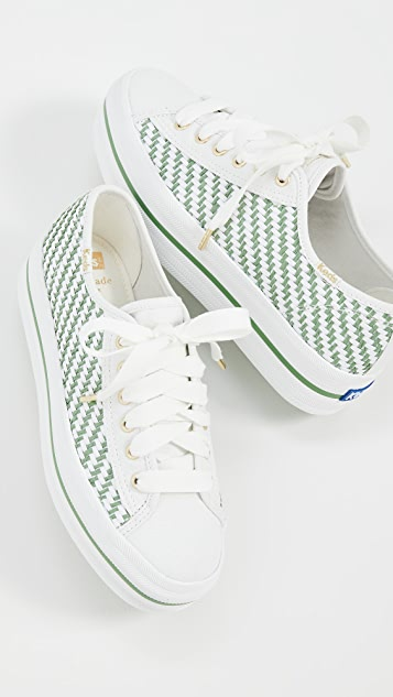 Keds x Kate Spade New York Triple Up 运动鞋