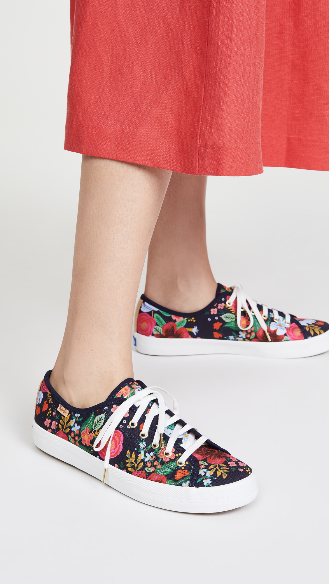 Keds x Rifle Paper Co Kickstart Wild Rose Sneakers
