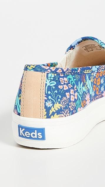 Keds x Rifle Paper Co Double Decker Meadow Sneakers