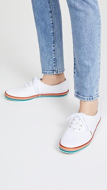 Keds Champion 彩虹材料运动鞋
